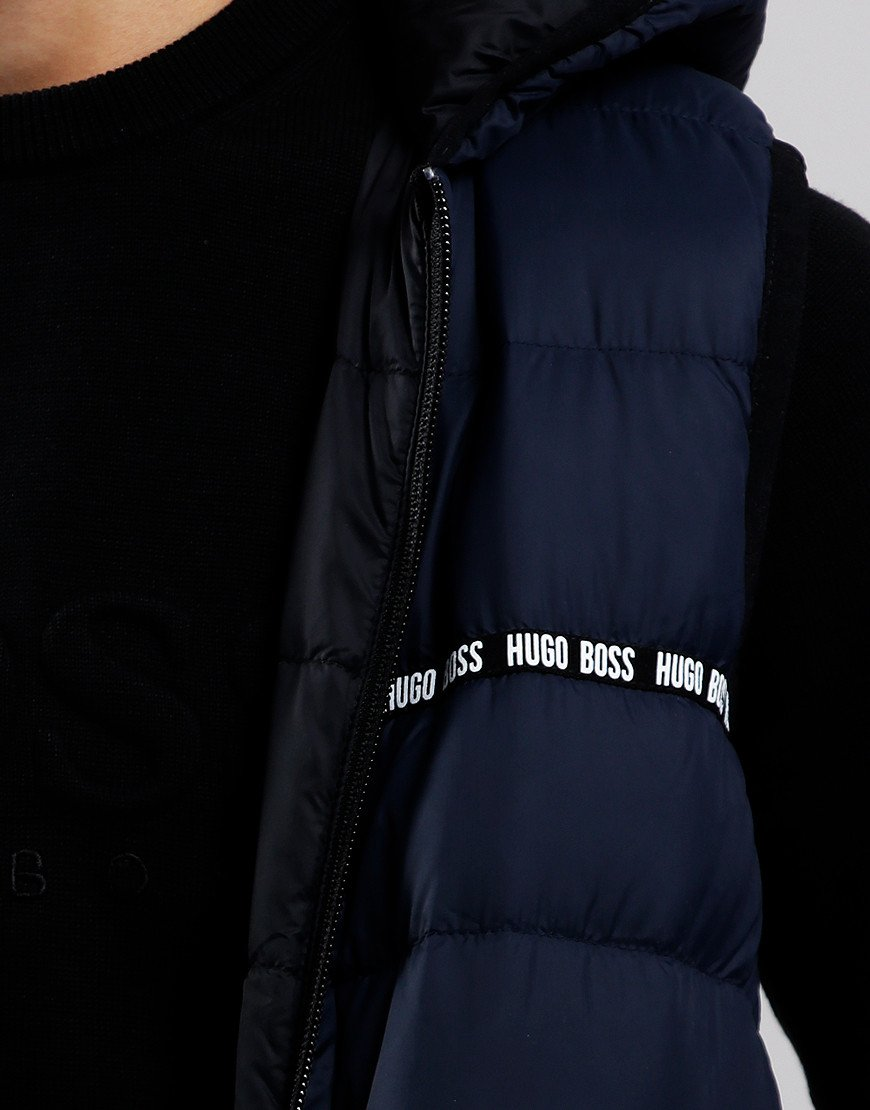 BOSS Kids Reversible Gilet Navy