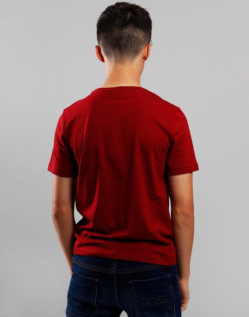 BOSS Kids Logo T-Shirt Crimson