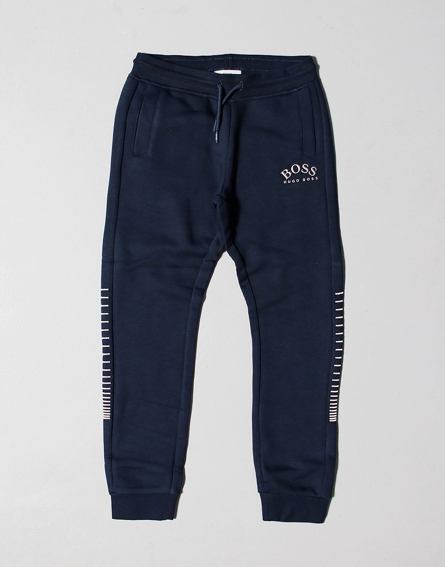 BOSS Kids French Terry Joggers Navy