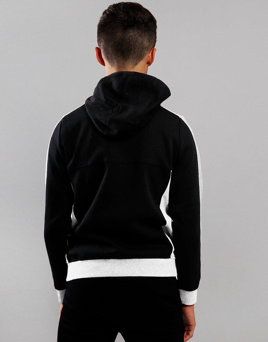 BOSS Kids Logo Hooded Sweat Black
