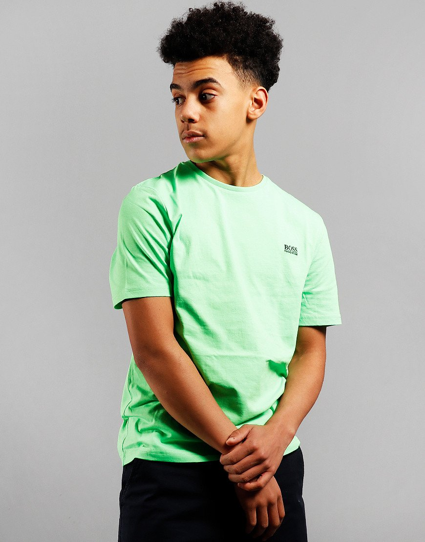BOSS Kids Small Logo T-Shirt Sea Green