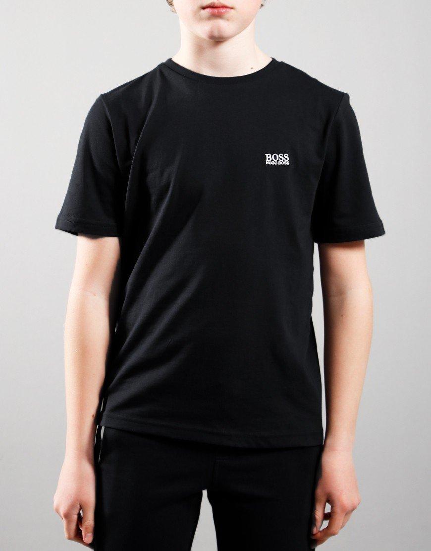 BOSS Kids Small Logo T-Shirt Black