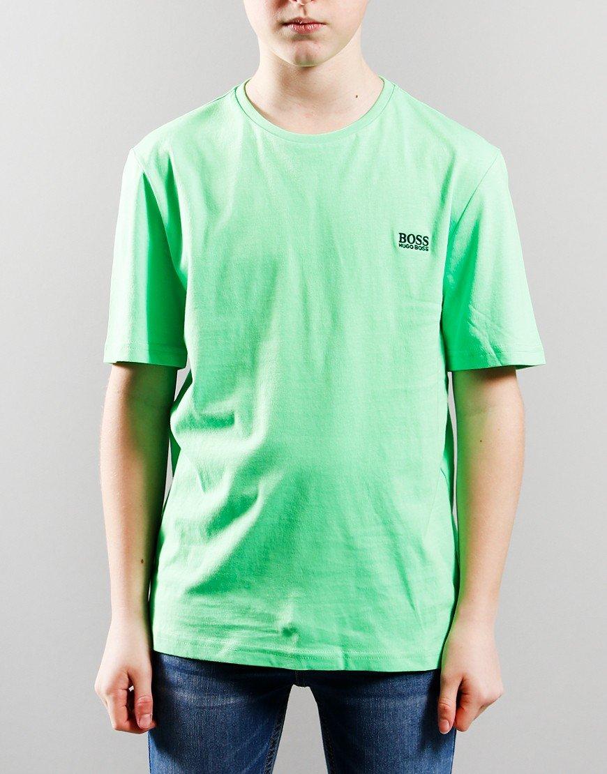 BOSS Kids Short Sleeve T-Shirt Sea Green