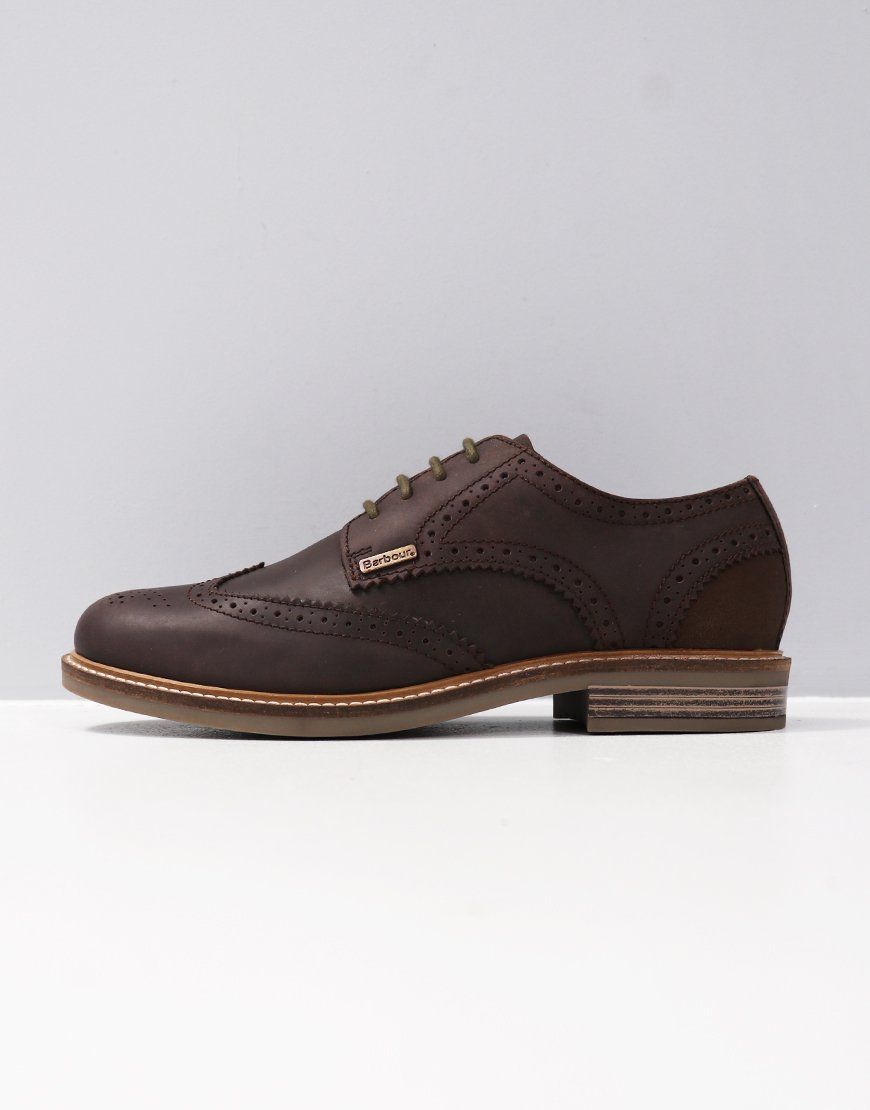 Barbour Bamburgh Shoes Chocolate
