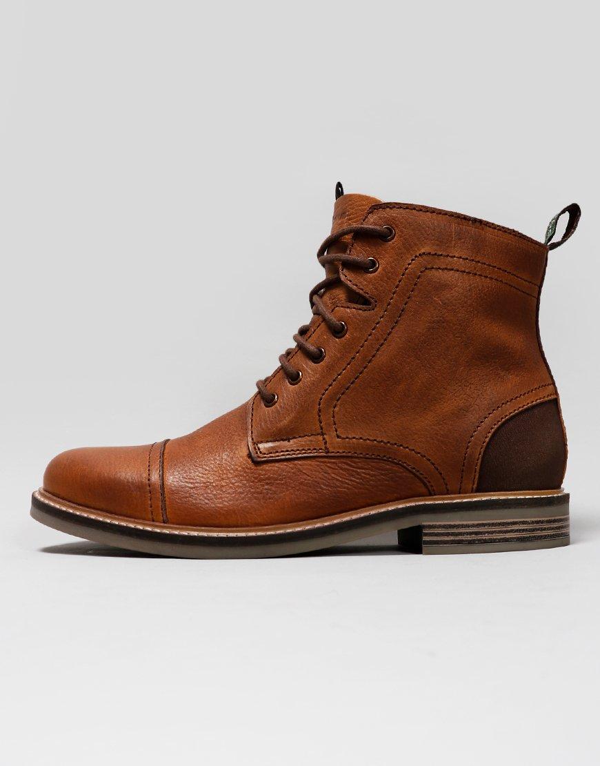 Barbour Dalton Boots Cognac