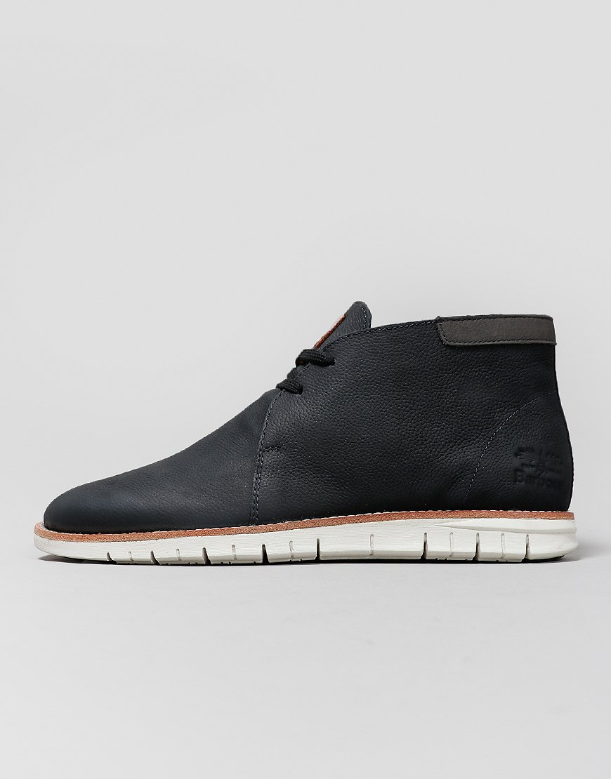 Barbour Boughton Chukka Boots Navy