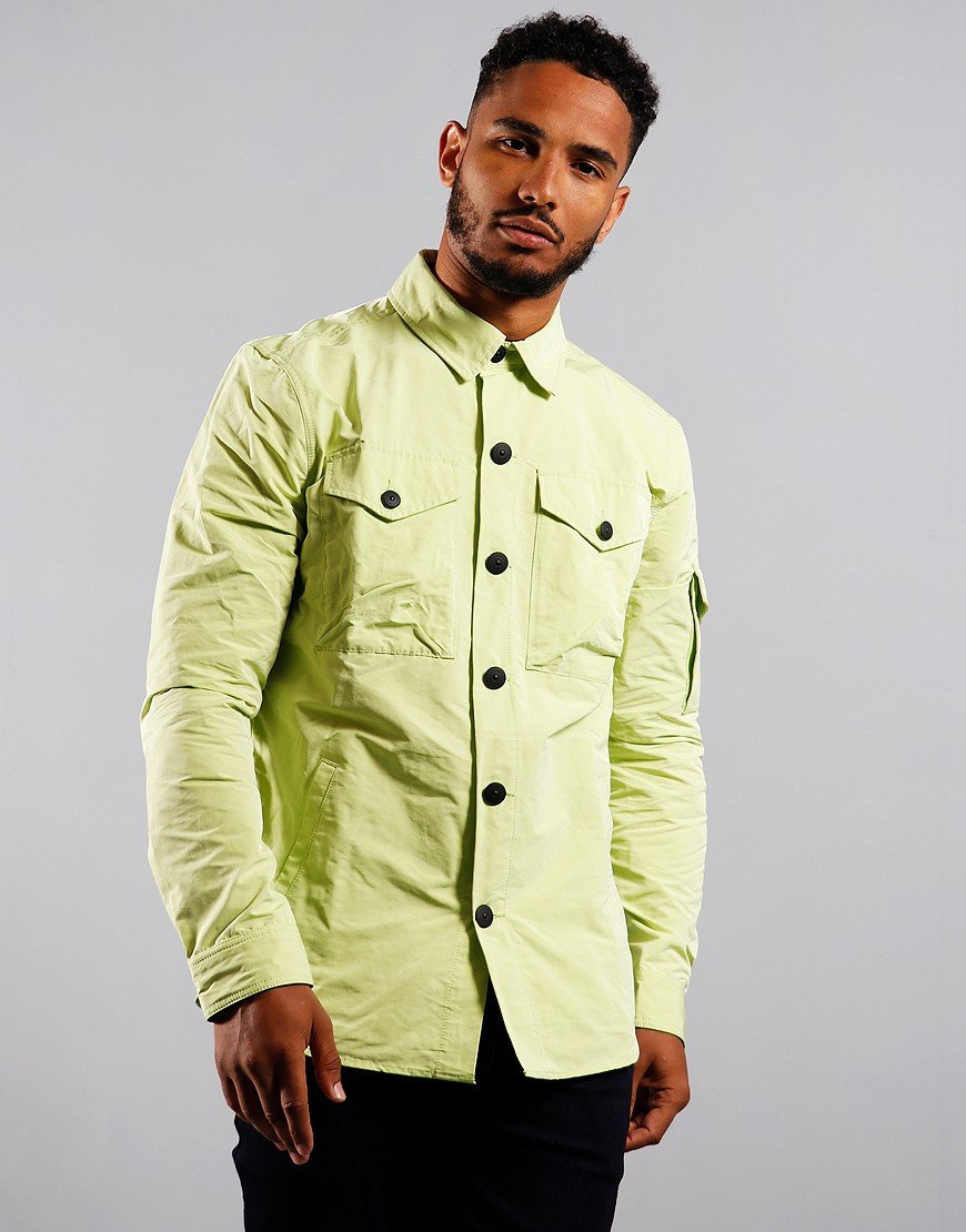 Barbour Beacon Askern Overshirt Celery