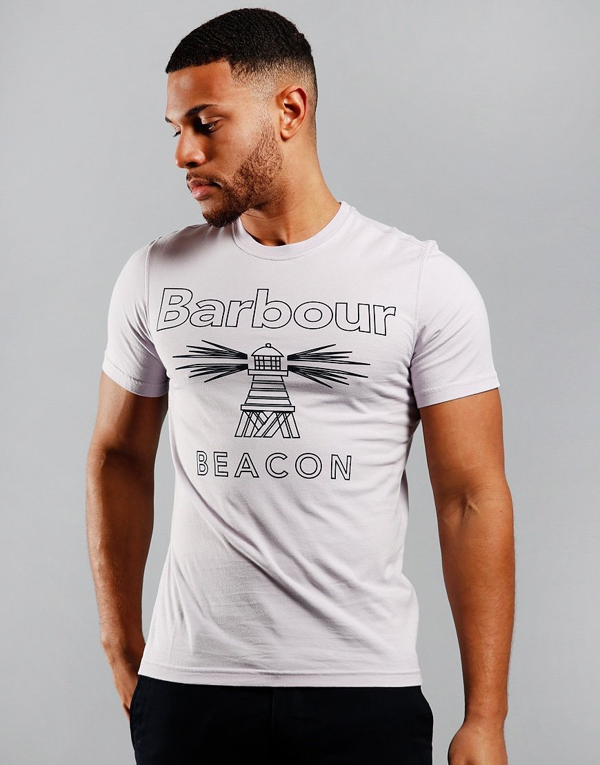 Barbour Beacon Beam T-Shirt Thistle