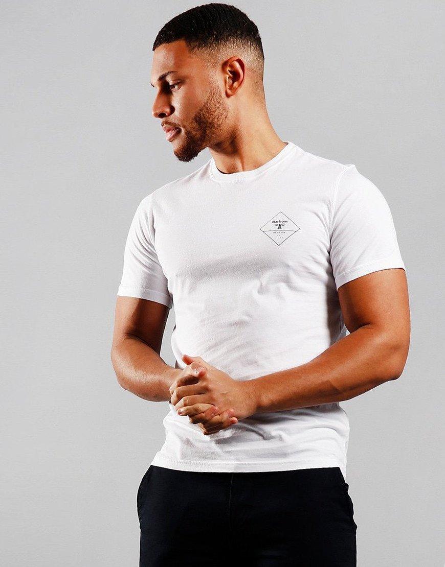 Barbour Beacon Box Logo T-Shirt White