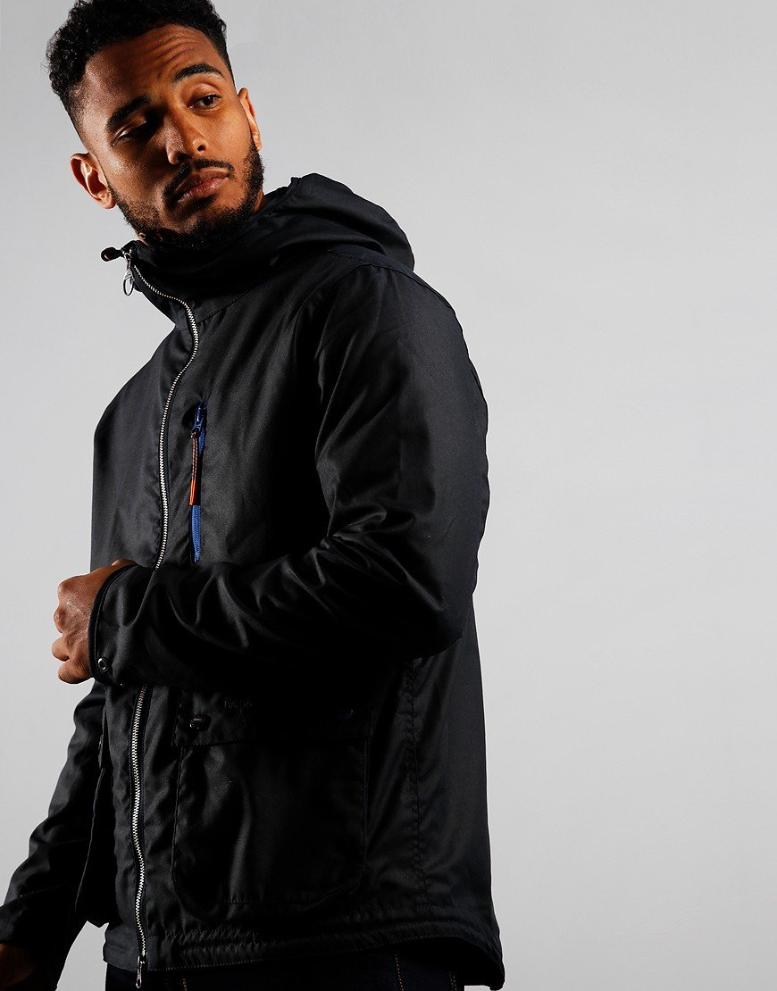 Barbour Beacon Hawthorn Wax Jacket Navy