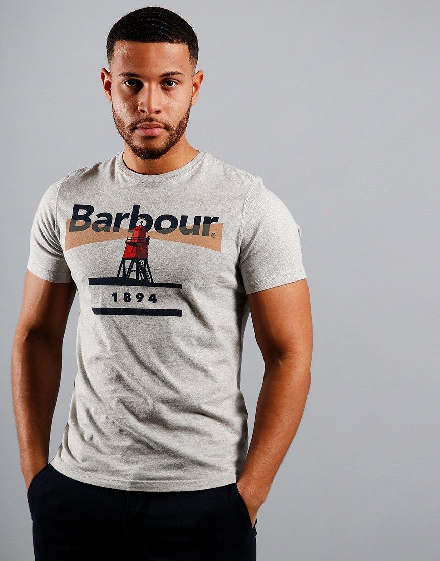 Barbour Beacon 94 T-Shirt Grey Marl