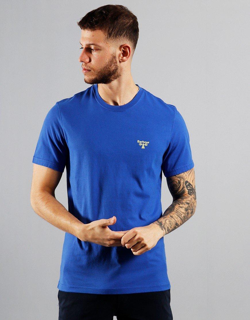 Barbour Beacon Logo T-Shirt Dazzling Blue