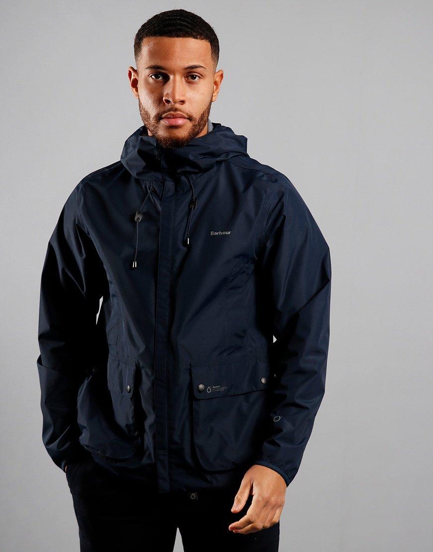 Barbour Bennett Waterproof Jacket Navy