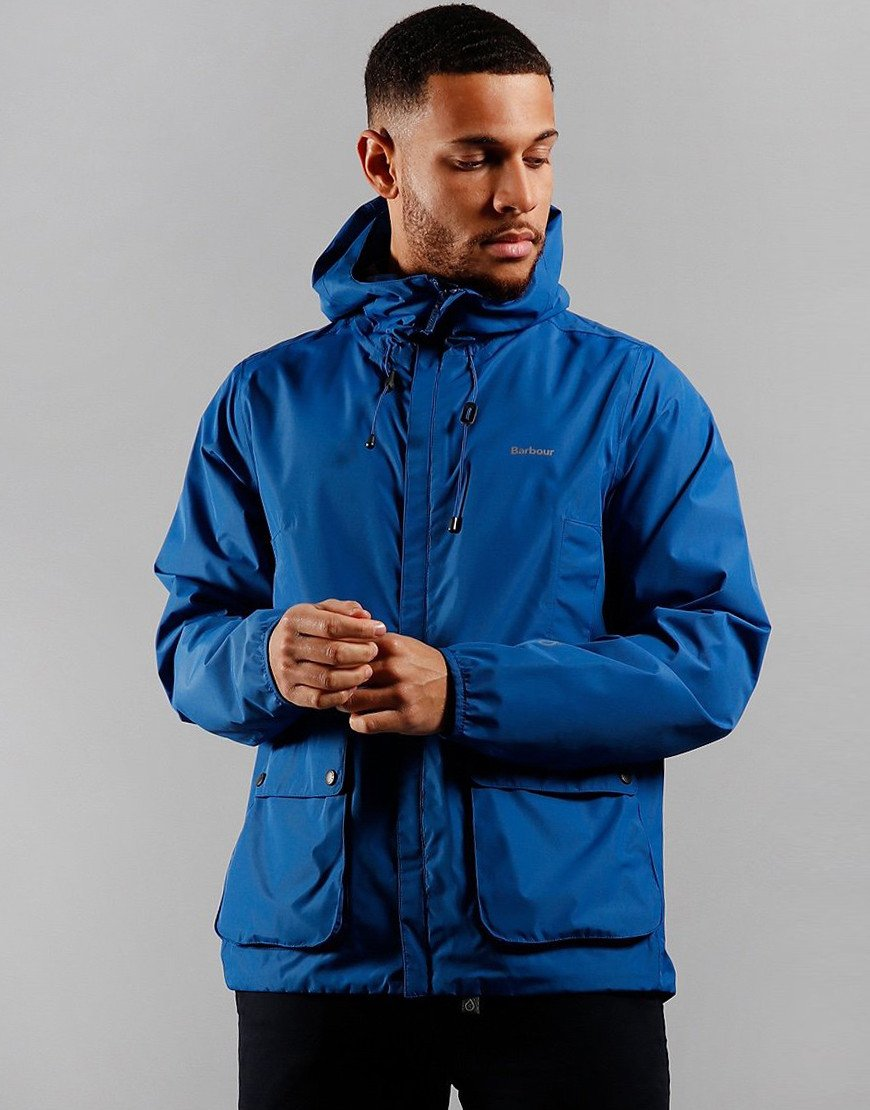 Barbour Bennett Waterproof Jacket True Blue