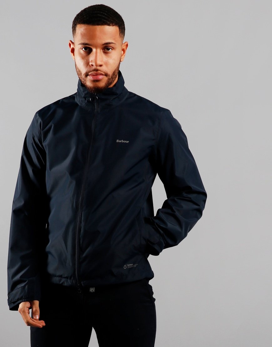 Barbour Cooper Waterproof Jacket Navy