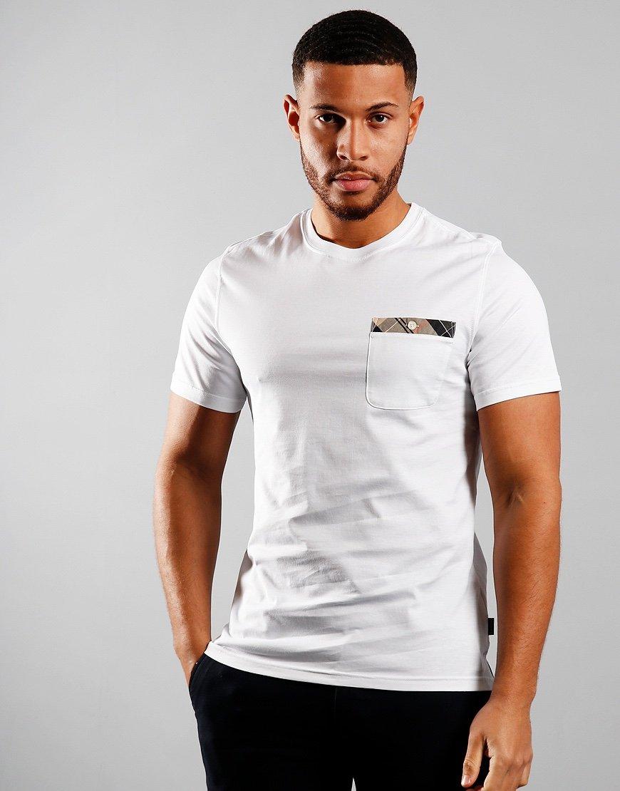 Barbour Durness Pocket T-Shirt White