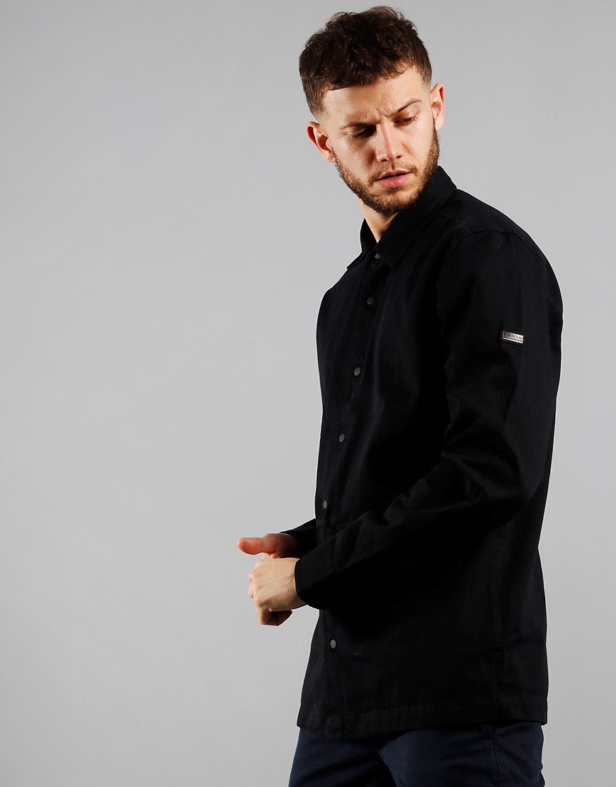 Barbour International Endo Overshirt Black