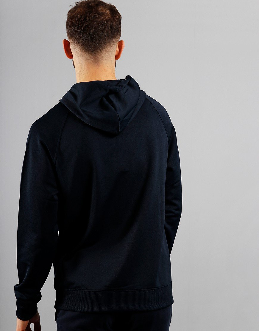 Barbour International Pop Over Hoodie Navy