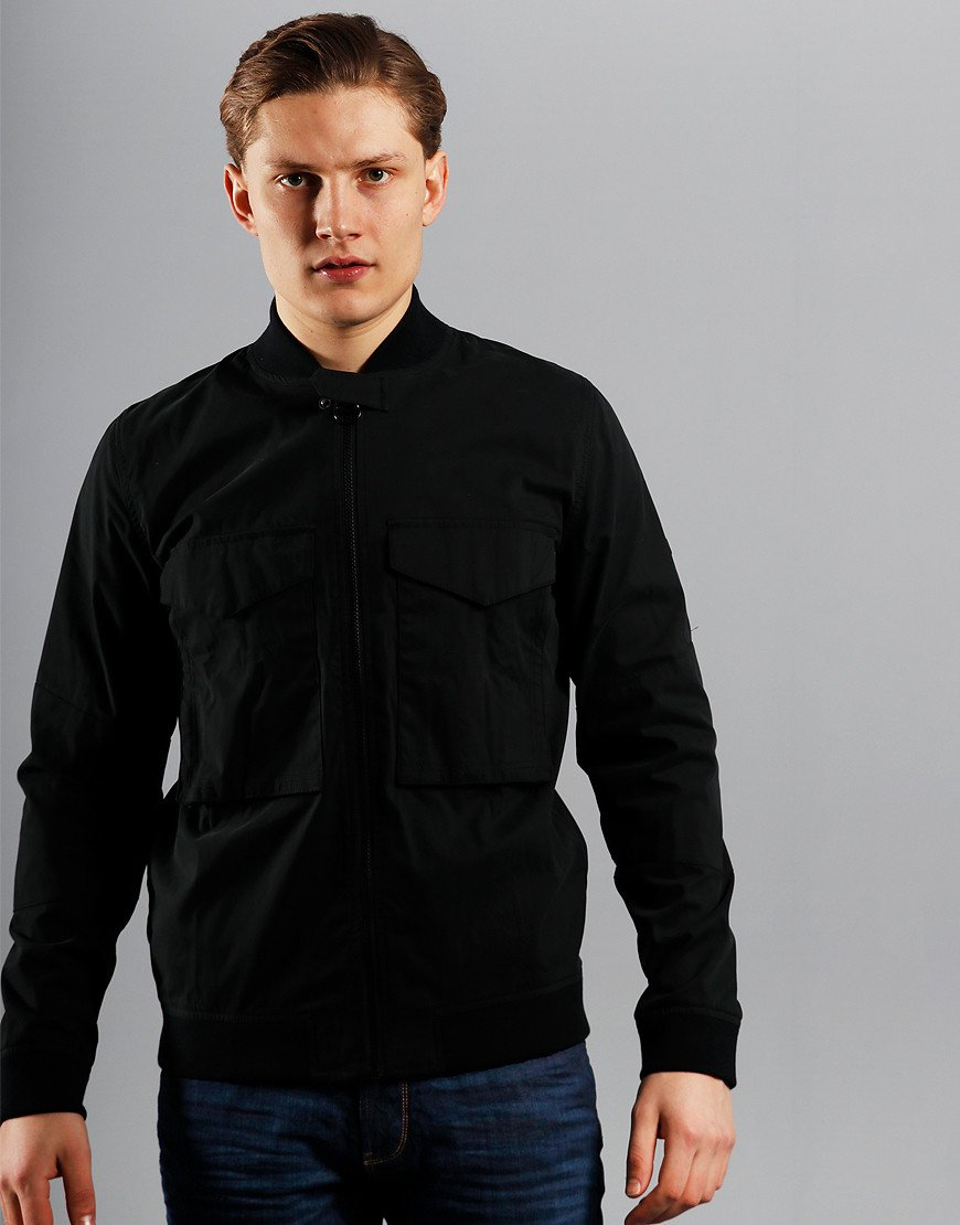 Barbour International Turbo Zip Thru Jacket Black