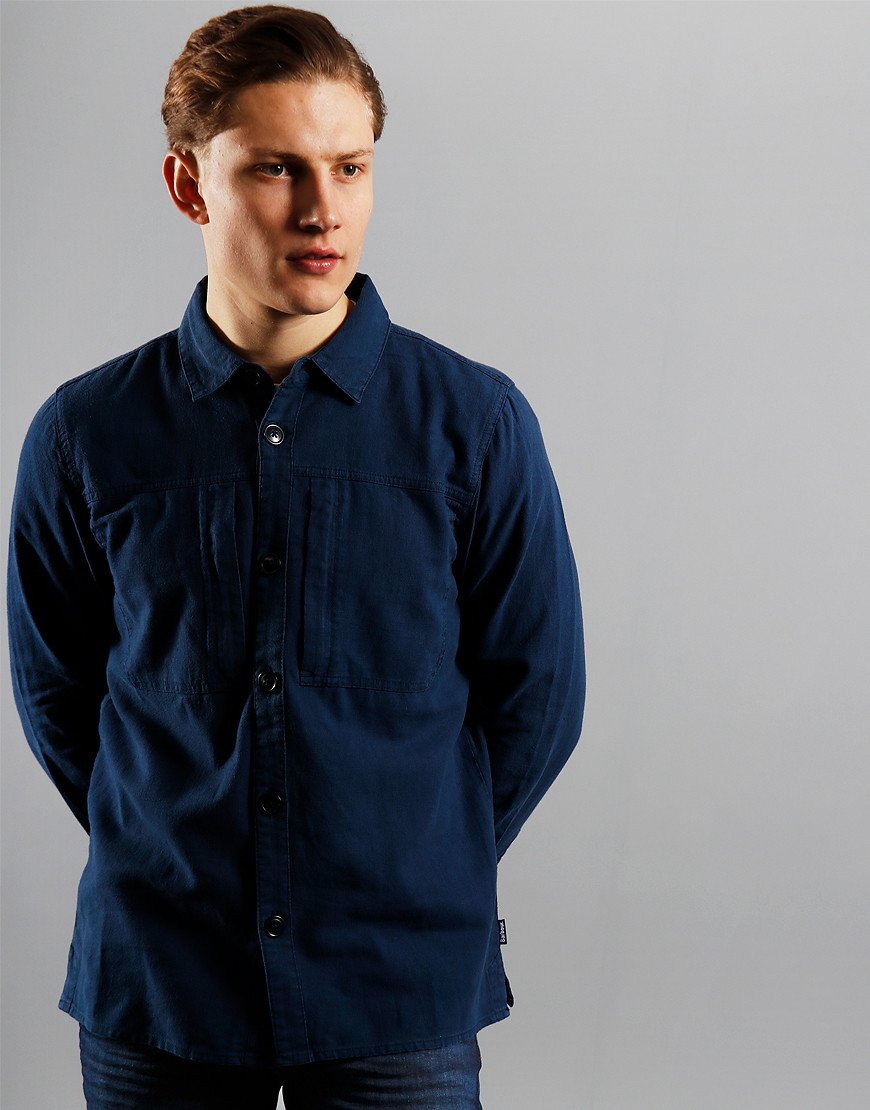 Barbour Kilda Overshirt  Mid Blue
