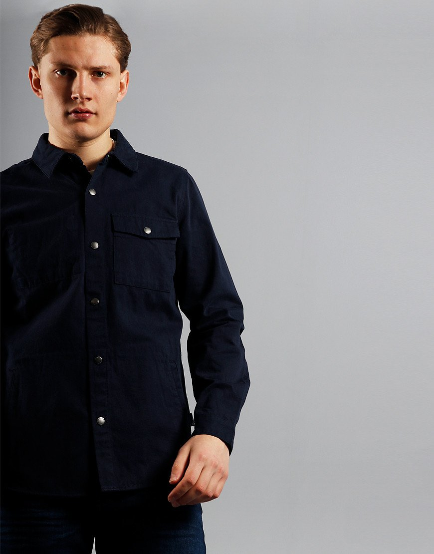 Barbour Mortan Overshirt  Inky