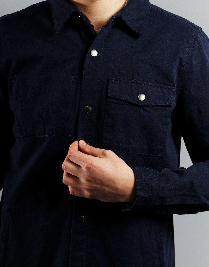 Barbour Mortan Overshirt  Inky