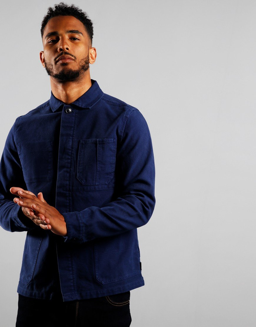 Barbour Duncansea Overshirt Regal Blue