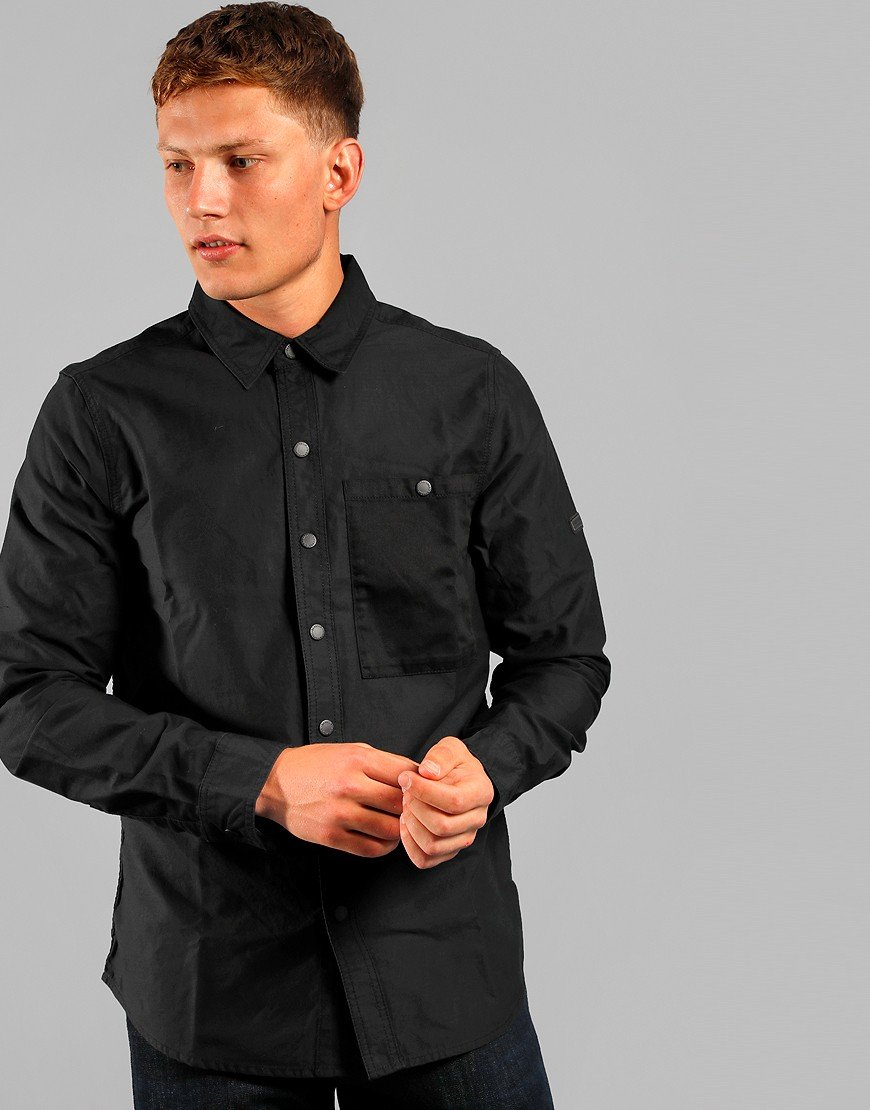 Barbour International Dual Overshirt Black