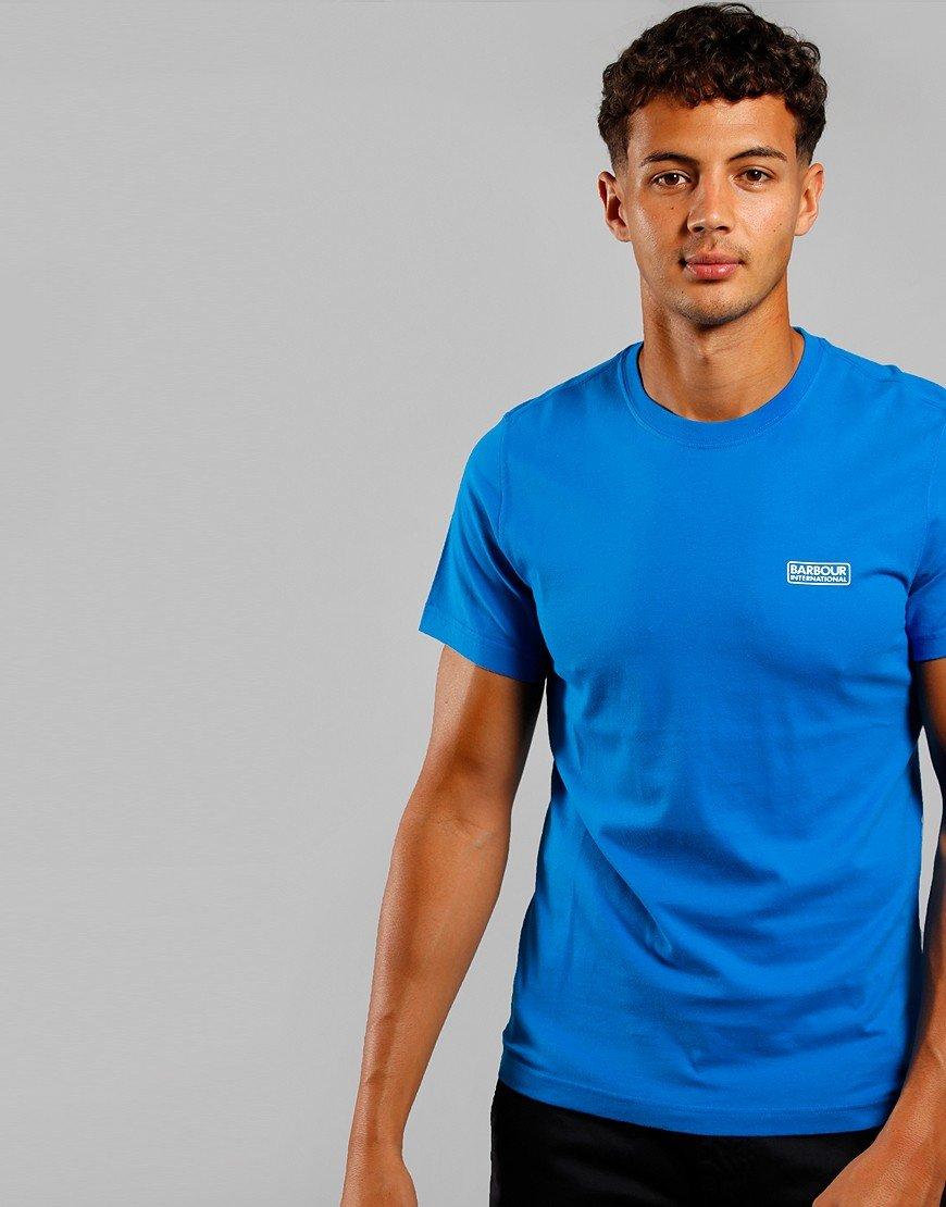 Barbour International Small Logo T-Shirt Neela Blue