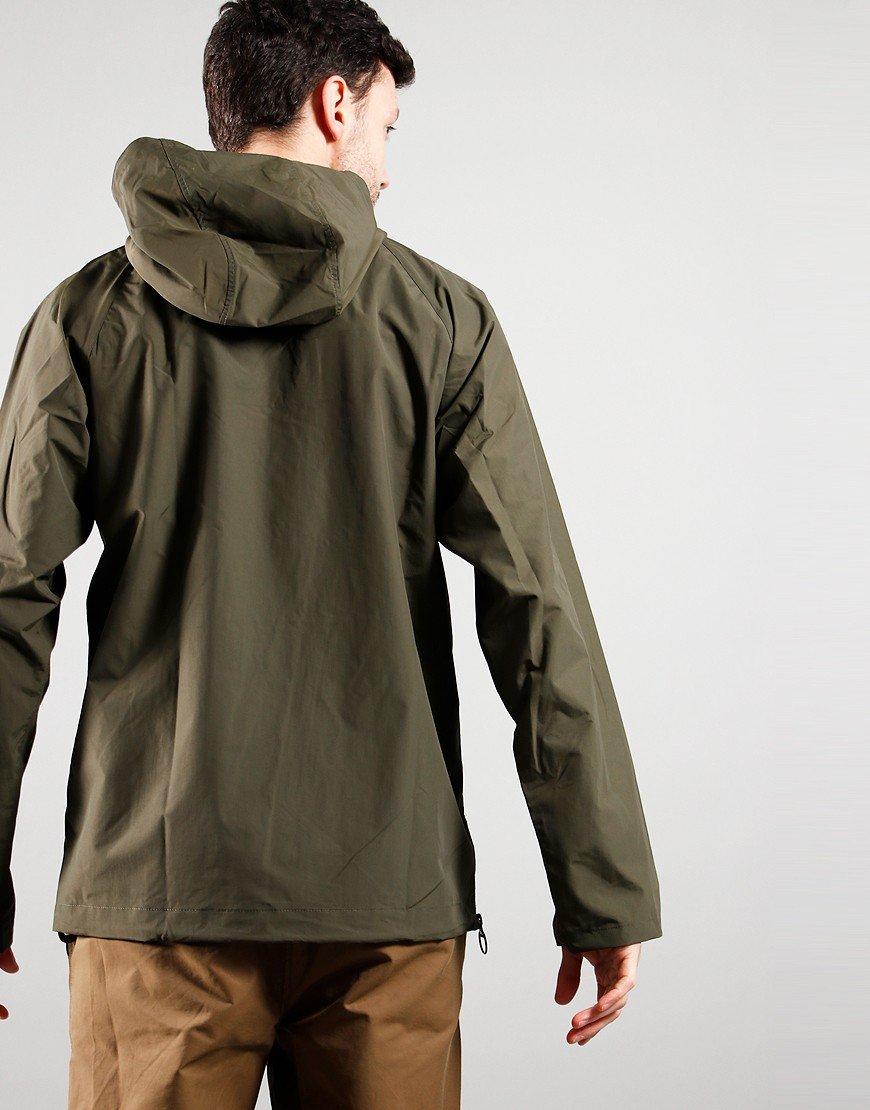 Barbour Alnot Overhead Hooded Jacket Mid Olive