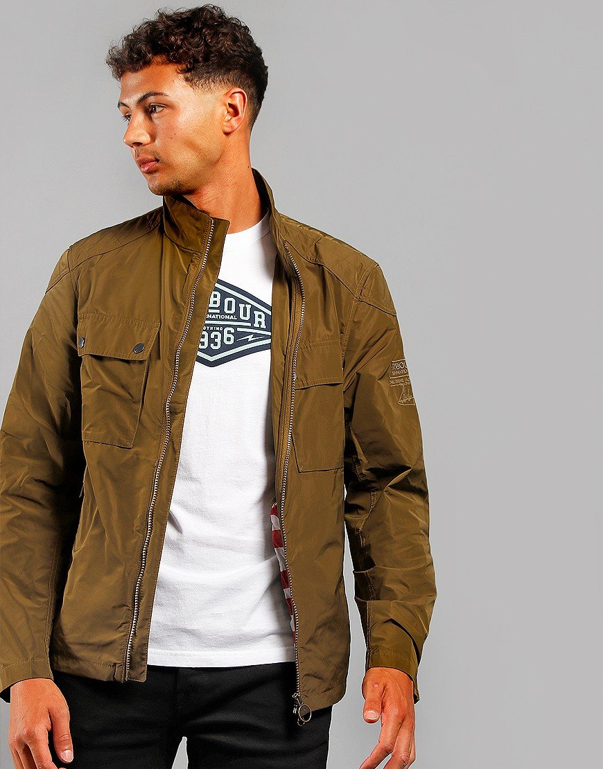 Barbour International Steve McQueen Ashbury Jacket Sage