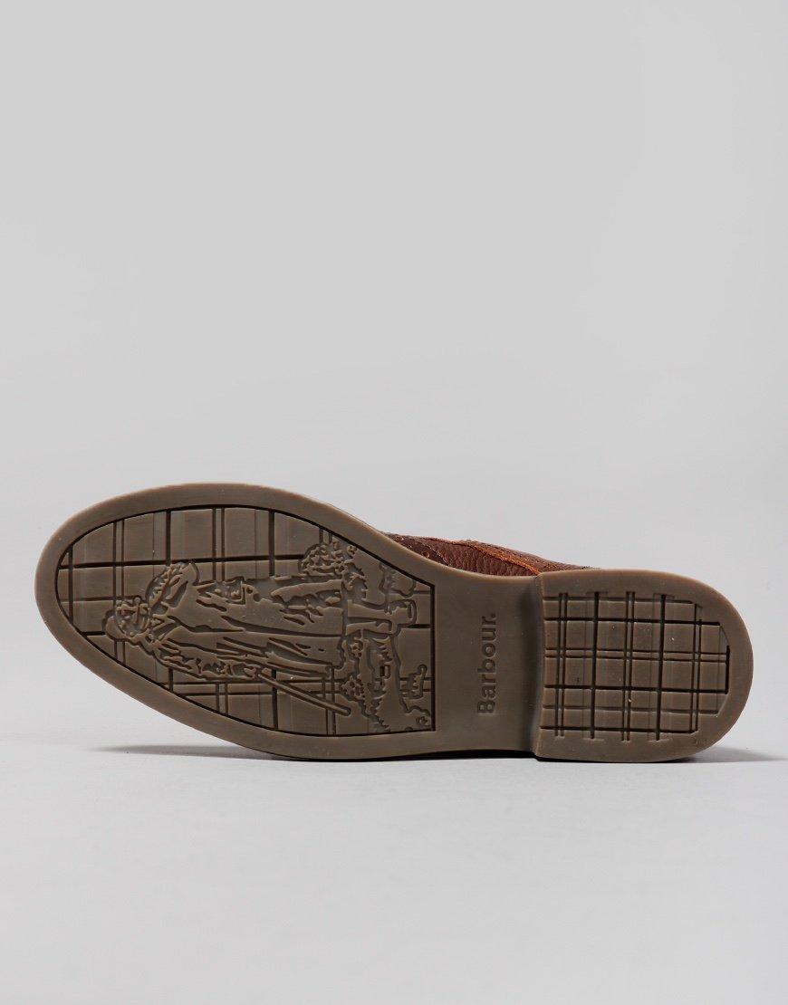 Barbour Belsay Boots Dark Brown