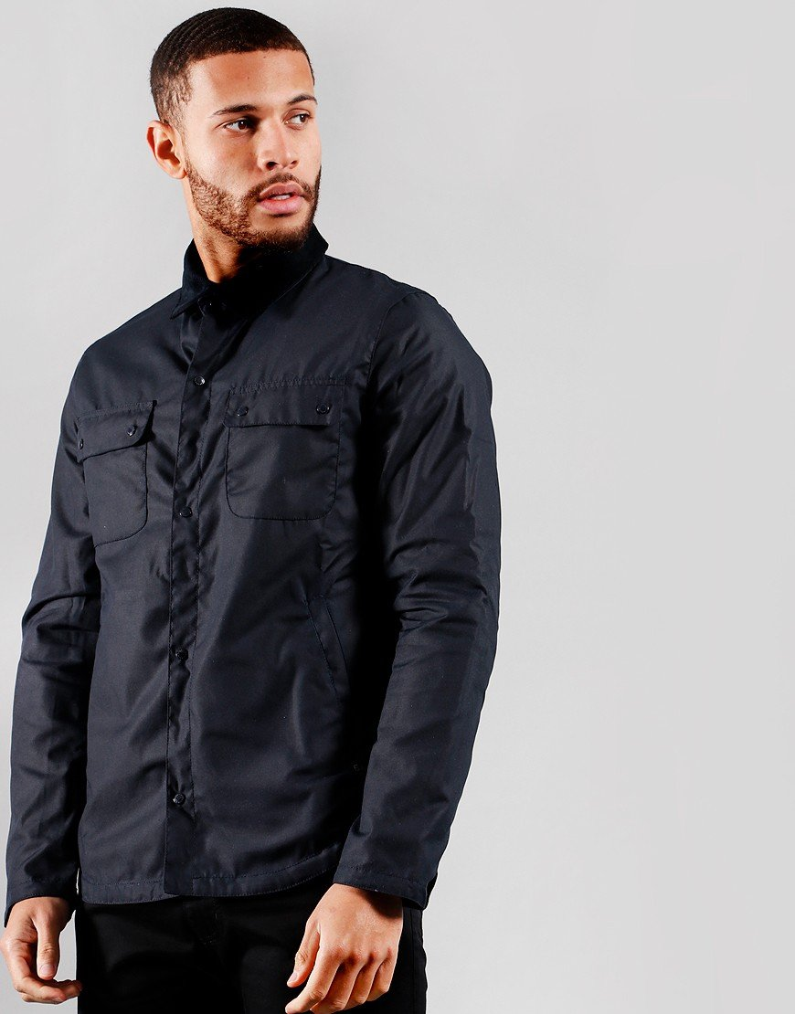 Barbour Beacon Akenside Wax Jacket Navy
