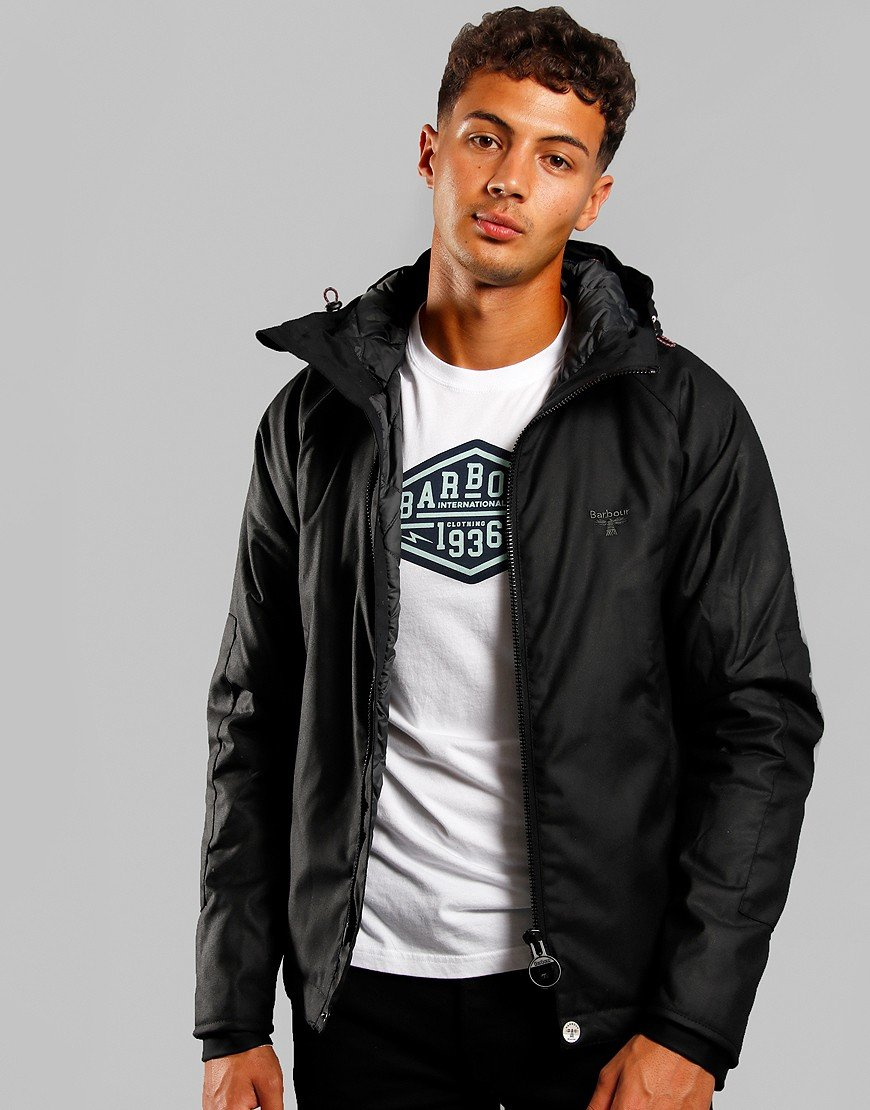 Barbour Beacon Alister Jacket Black