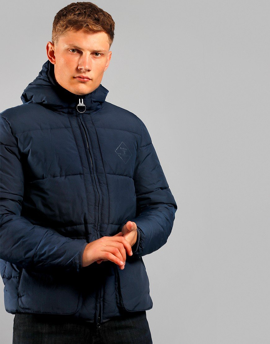 Barbour Beacon Ansah Quilt Jacket Navy