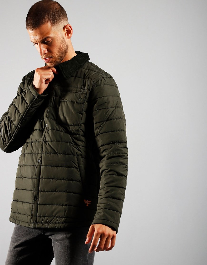 Barbour Beacon Baff Akenside Jacket Sage