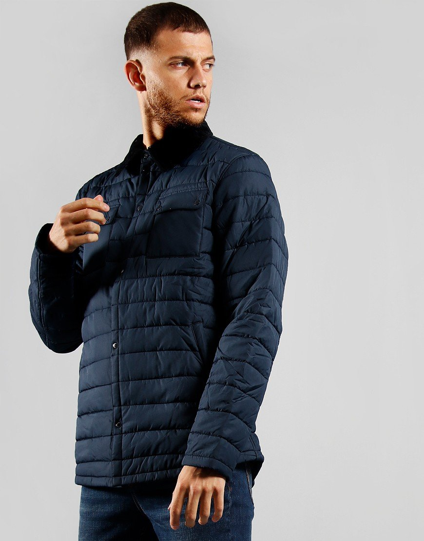 Barbour Beacon Akenside Baffle Jacket Navy