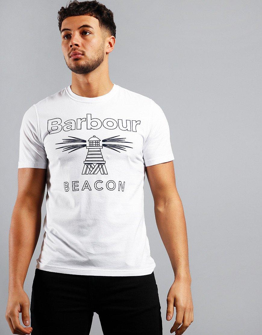 Barbour Beacon Beam T-Shirt White