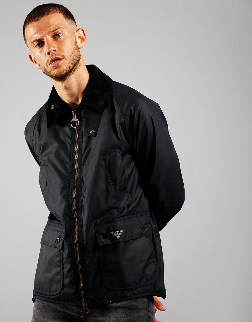 Barbour Beacon Bedale Wax Jacket Navy
