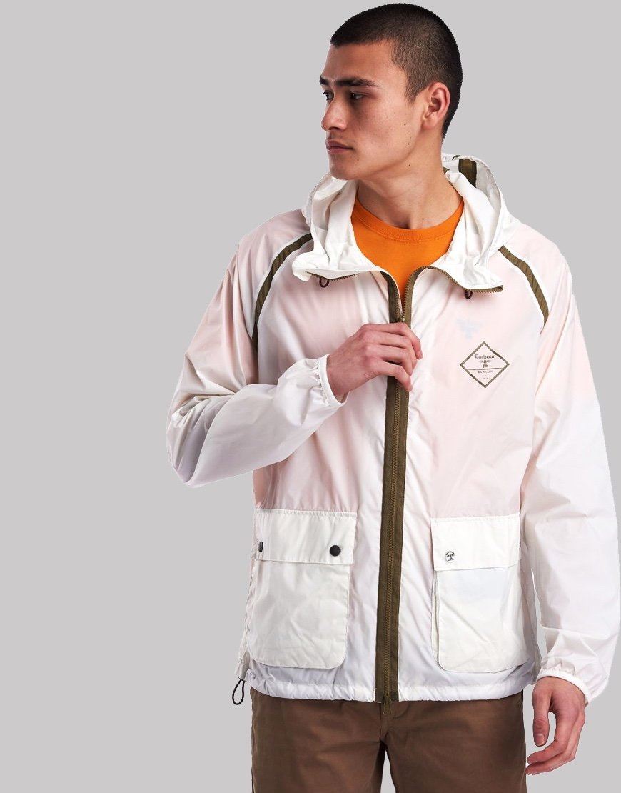Barbour Beacon Bowhill Jacket White