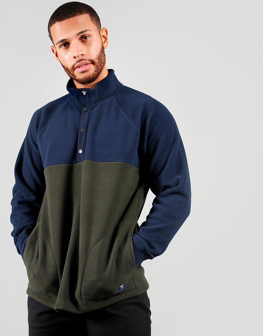 Barbour Beacon Colt Half Fleece Navy