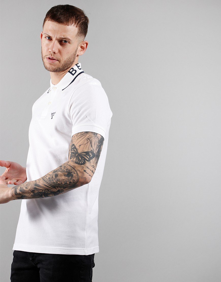 Barbour Beacon Colt Polo Shirt White