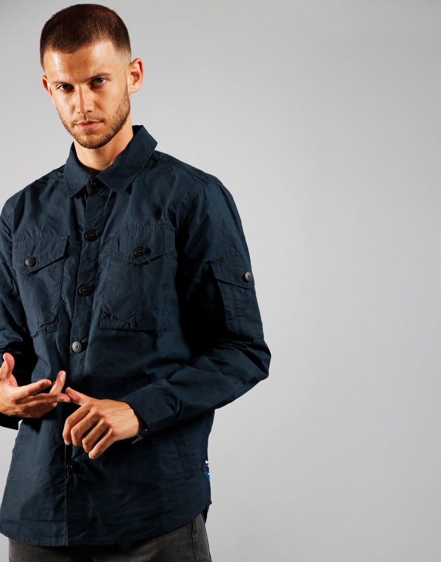 Barbour Beacon Dalby Overshirt Navy