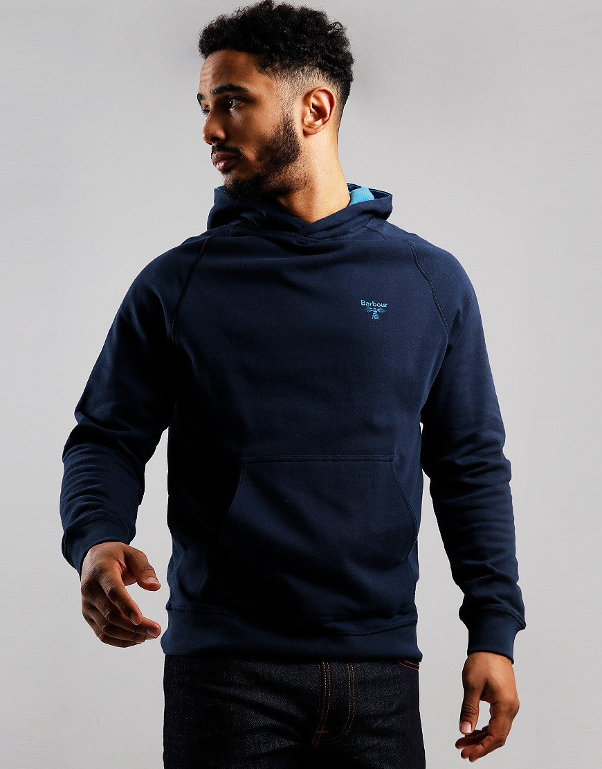 Barbour Beacon Edale Hooded Sweat Navy