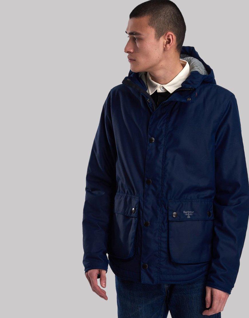 Barbour Beacon Hooded Reelin Jacket Regal