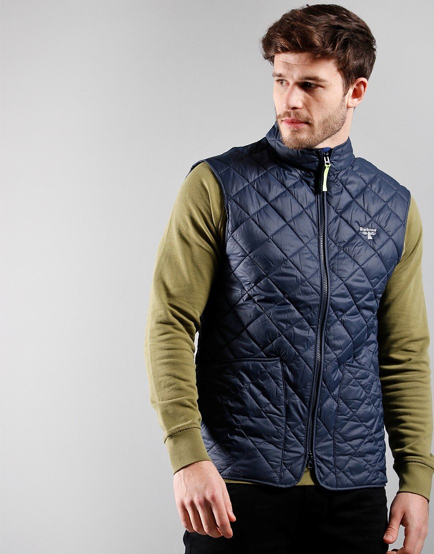 Barbour Beacon Hewitt Gilet Navy