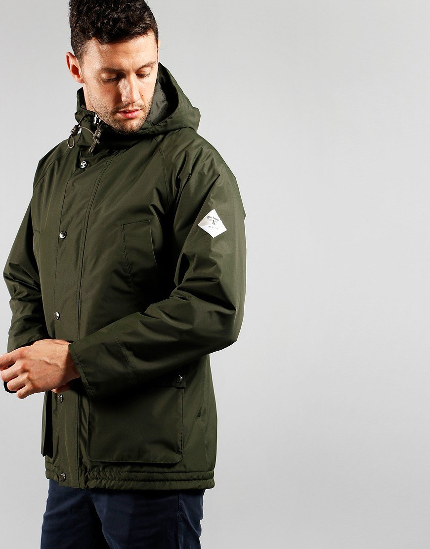 Barbour Beacon Hooded Bedale Jacket Sage