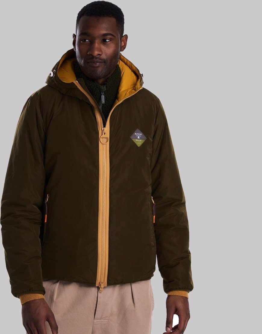 Barbour Beacon Leith Jacket Sage