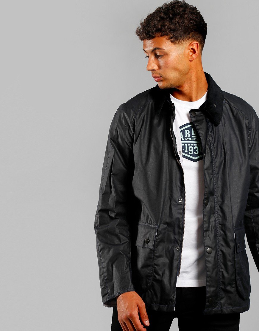 Barbour Beacon Morgan Jacket Navy