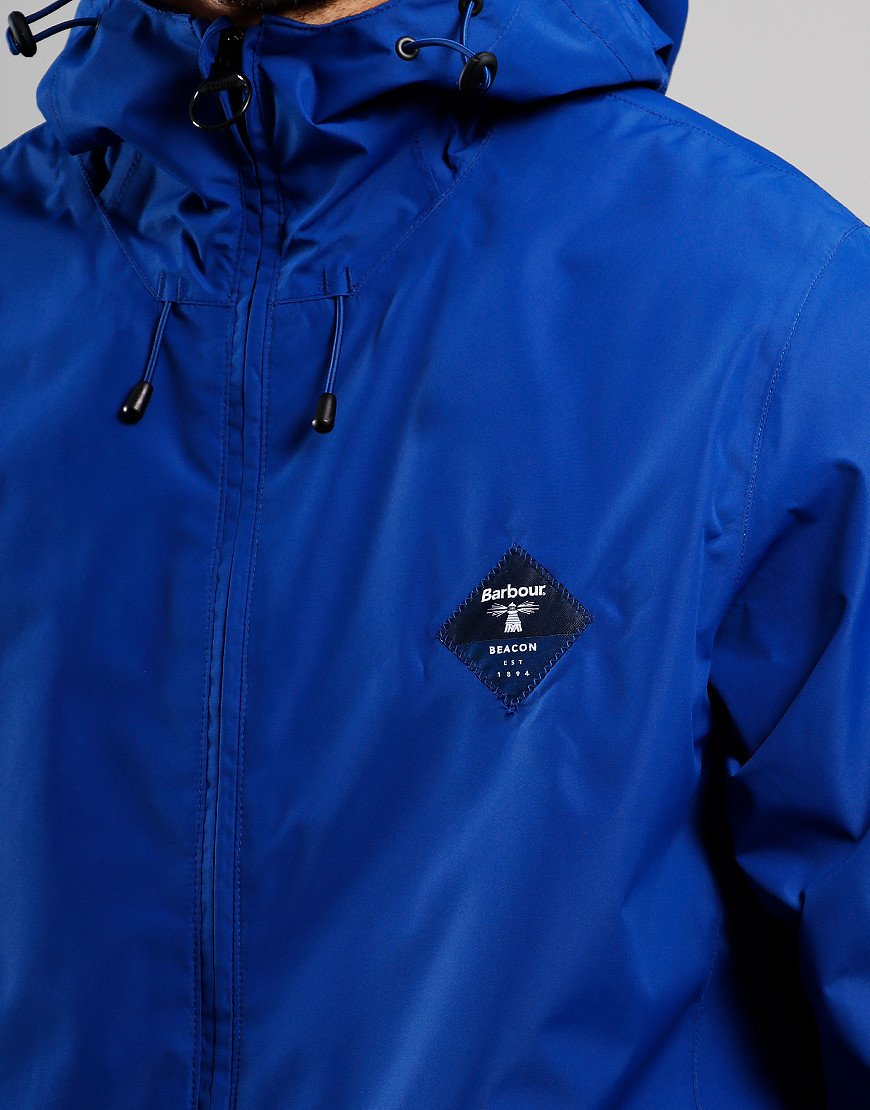 Barbour Beacon Mound Waterproof Jacket Charge Blue